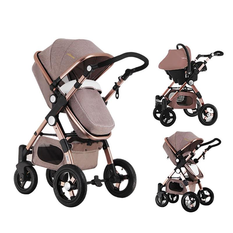 3-in-1 Prestige Baby Stroller with Car Seat Travel System – Want Amazing
