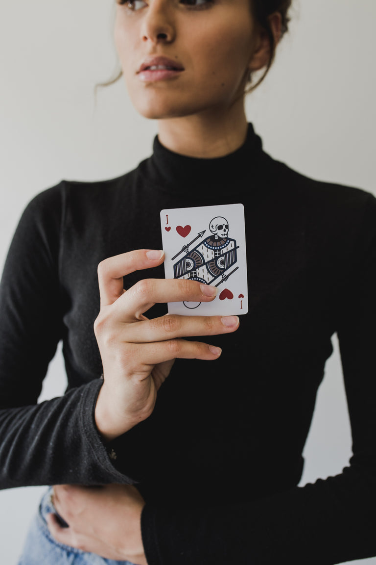 Widow Maker Playing Cards