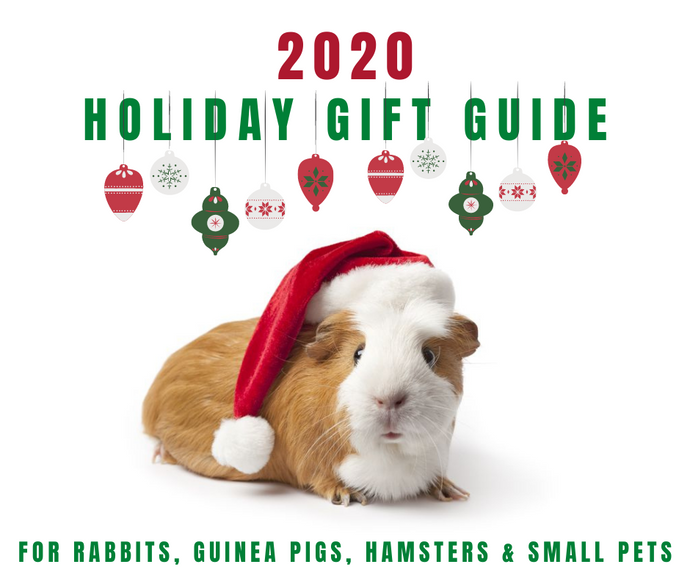 Wheeky® Pets' 2020 Christmas Holiday Gift Guide for Guinea Pigs, Rabbits and Small Pets