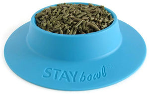 STAYbowlⓇ Tip-Proof Bowl for Guinea Pigs and Small Pets (3-6 guinea pigs) - SIZE LARGE (¾-cup) - Wheeky Pets, LLC (Green Oak Technology Group)