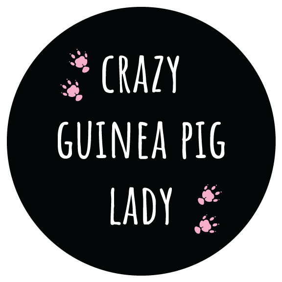 Crazy Guinea Pig Lady Sticker, 3-inch