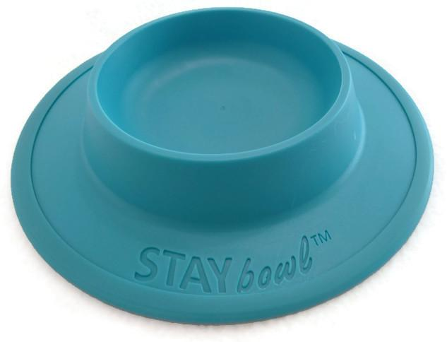 STAYbowlⓇ NO-SLIP/NO-TIP Food and Water Bowl for Cats (3/4 CUP SIZE) - Wheeky Pets, LLC (Green Oak Technology Group)