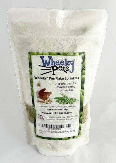Wheeky® Pea Flake Sprinkles - Chickens, Ducks and Poultry