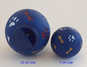 WheekyⓇ Treat Ball for for Small Dogs (<20 lbs.) - Wheeky Pets, LLC (Green Oak Technology Group)