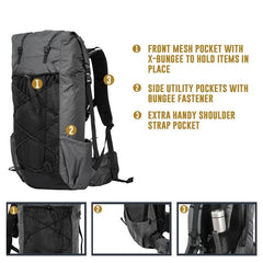 Rucksack-55 By Alpine Ridge