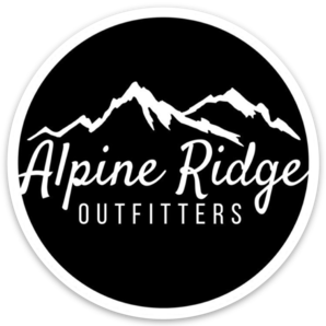 "Alpine 3"" Weather-Proof Sticker - Alpine Ridge Outfitters"