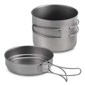 Titanium Cook Set - Alpine Ridge Outfitters