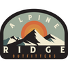 "Retro Alpine 3"" Weather-Proof Sticker - Alpine Ridge Outfitters"