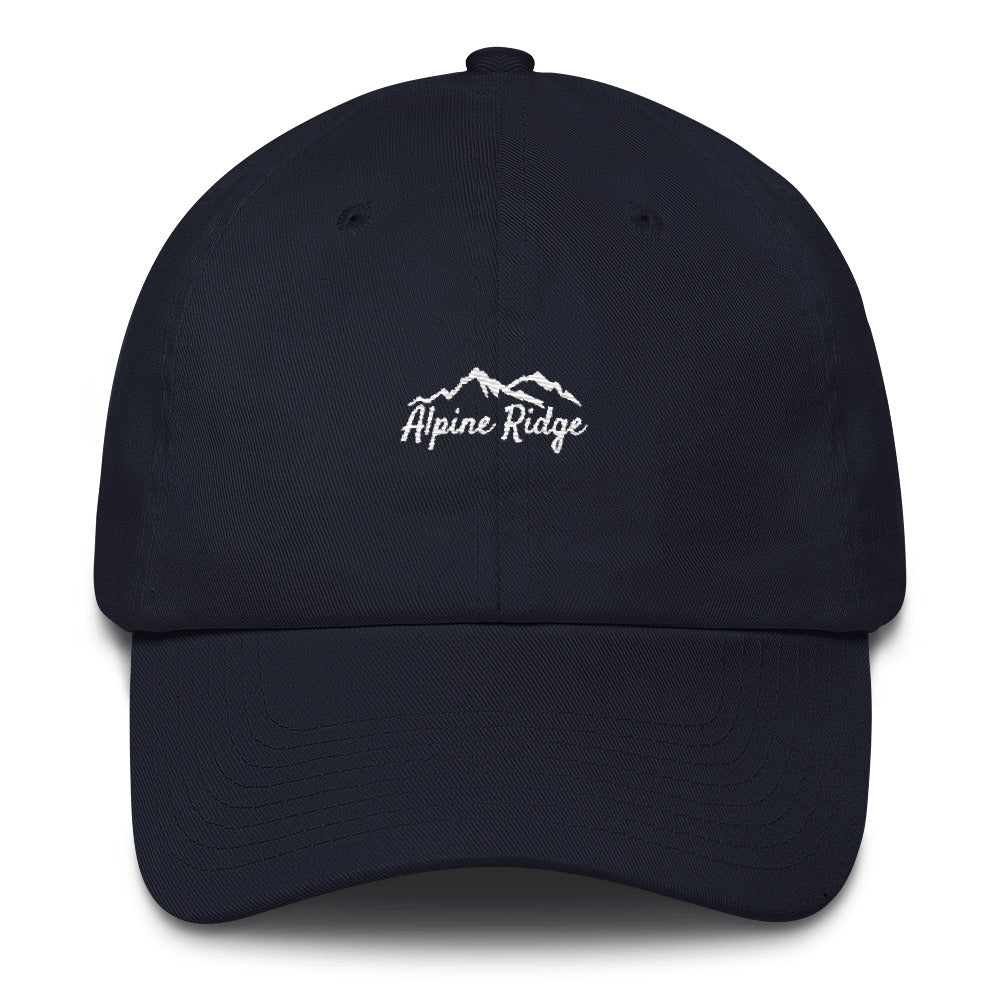 Signature Cotton Cap - Alpine Ridge Outfitters