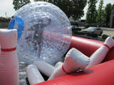 40' Bubble Bowling Interactive Game - Inflatable Fun Warehouse