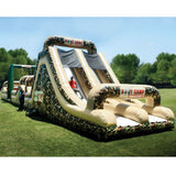 85' Inflatable Boot Camp Challenge Obstacle Course - Inflatable Fun Warehouse