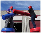24' Inflatable Gladiator Joust Interactive Game - Inflatable Fun Warehouse