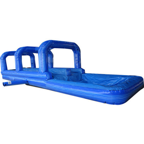 36' Inflatable Double Lane Surf N Slide with Pool - Inflatable Fun Warehouse