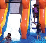 18' Inflatable Splash Island Water Slide - Inflatable Fun Warehouse