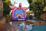 15'Wx15'L Inflatable Rainbows & Flying Unicorns Jumper (Large) - Inflatable Fun Warehouse