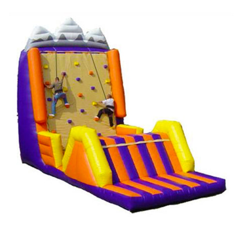 25' Inflatable Cliff Hanger Interactive Game - Inflatable Fun Warehouse