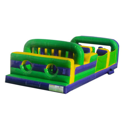 Inflatable 7 Element Obstacle Course - Inflatable Fun Warehouse