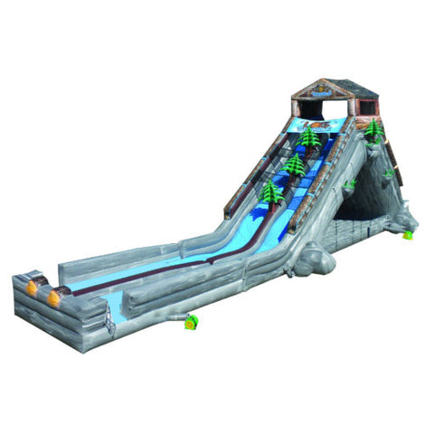 90' Inflatable Log Jammer Extreme - Inflatable Fun Warehouse