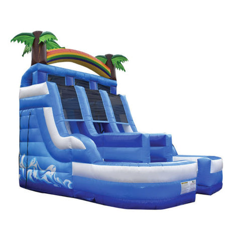 20' Inflatable Tropical Splash Slide - Inflatable Fun Warehouse