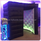 8'Wx8'Dx8'H Inflatable Photo Booth With LED Lights - Inflatable Fun Warehouse