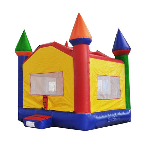 13'Wx13'L Inflatable Castle Jumper (Medium) - Inflatable Fun Warehouse