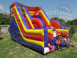 18' Inflatable Cliff Jump Jr. Interactive Game - Inflatable Fun Warehouse