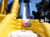 39' Inflatable Jump & Slide - Inflatable Fun Warehouse
