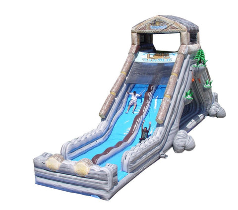 65' Inflatable Log Jammer Slide - Inflatable Fun Warehouse