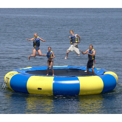 16' Inflatable Water Trampoline - Inflatable Fun Warehouse