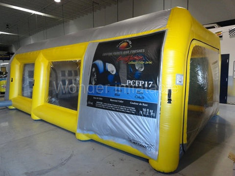 20' Inflatable Carport - Inflatable Fun Warehouse