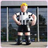 16' Inflatable Soccer Player - Inflatable Fun Warehouse