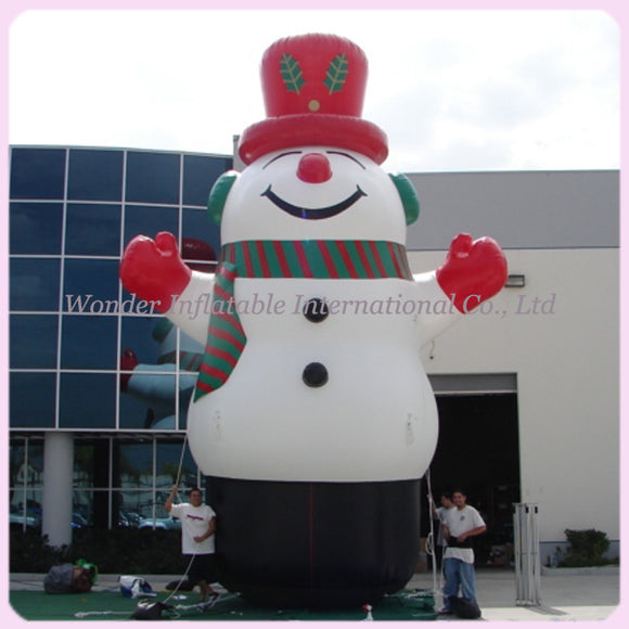 Inflatable Snowman Christmas Decoration (Free Shipping)