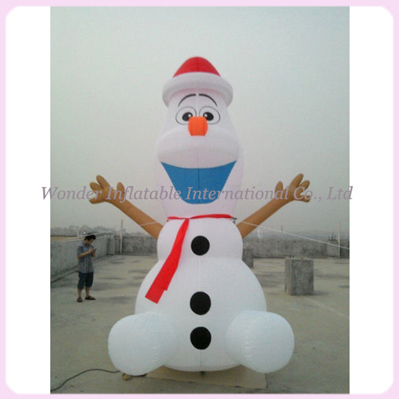 Giant Inflatable Olaf Outdoor Christmas Decoration (Free Shipping)