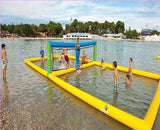 40' Inflatable Water Volleyball Court - Inflatable Fun Warehouse