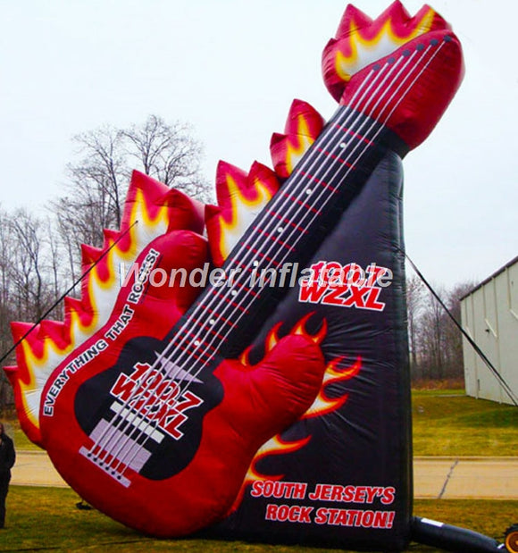 Giant Inflatable Guitar (Free Shipping)