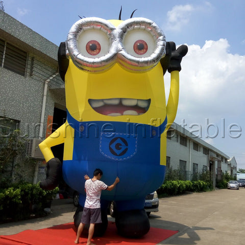 20' Inflatable Despicable Me Minion - Inflatable Fun Warehouse