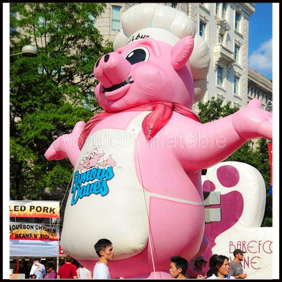 16'H Inflatable Pig - Inflatable Fun Warehouse
