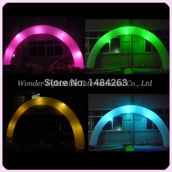 Inflatable Color Changing LED Arch (Free Shipping)