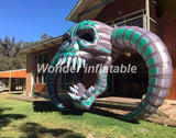 10' Inflatable Skull - Inflatable Fun Warehouse