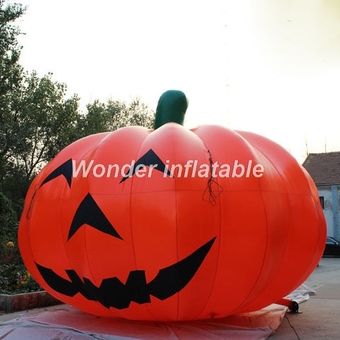 13'H Inflatable Halloween Pumpkin - Inflatable Fun Warehouse