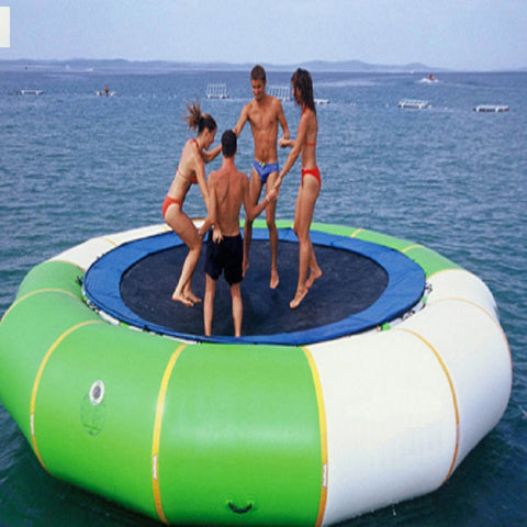 10' Inflatable Water Trampoline - Inflatable Fun Warehouse