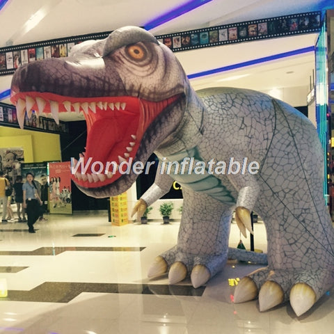 10'L Inflatable Dinosaur - Inflatable Fun Warehouse