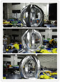 7' Silver Inflatable Money Machine - Inflatable Fun Warehouse