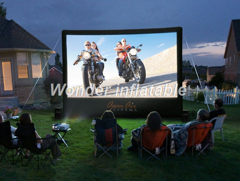 20' Portable Giant Inflatable Movie Screen - Inflatable Fun Warehouse
