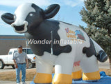 16' or 10' Inflatable Cow - Inflatable Fun Warehouse