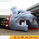 33' Inflatable Bulldog Sports Tunnel - Inflatable Fun Warehouse