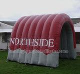 15' Inflatable Indian Headdress Sports Tunnel - Inflatable Fun Warehouse
