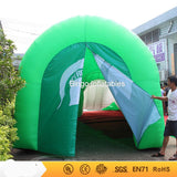 40'L Inflatable Football Helmet Tunnel - Inflatable Fun Warehouse