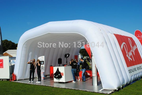 26'Lx16'Wx13'H Inflatable Rectangle Stage Cover - Inflatable Fun Warehouse