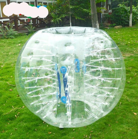4' Inflatable Zorb Ball Bubble Soccer - Inflatable Fun Warehouse